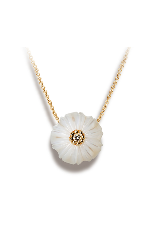 Galatea Pearl Flower Necklace PB4 product image