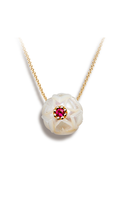 Galatea Pearl Flower Necklace PB7 product image