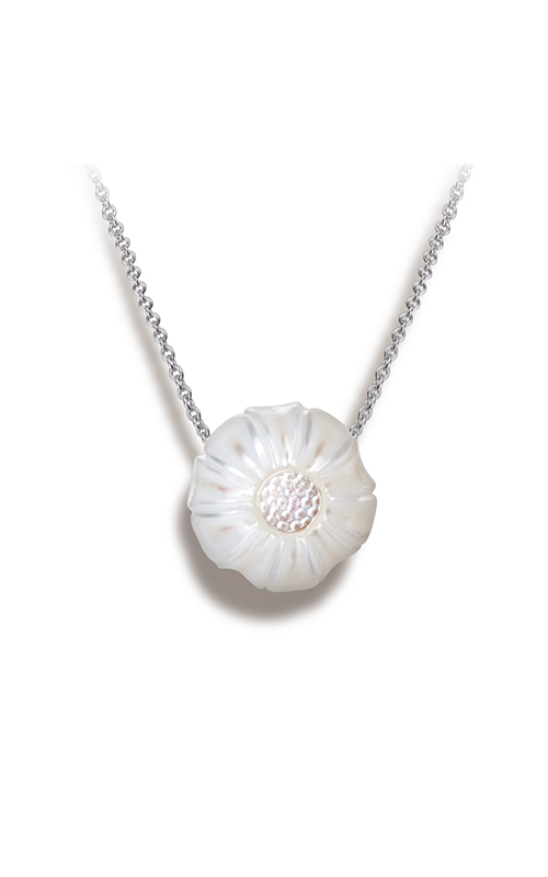 Galatea Pearl Flower Necklace PF4 product image