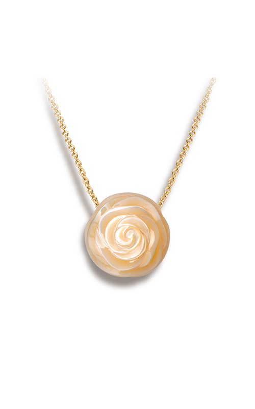 Galatea Pearl Flower Necklace PF6 product image