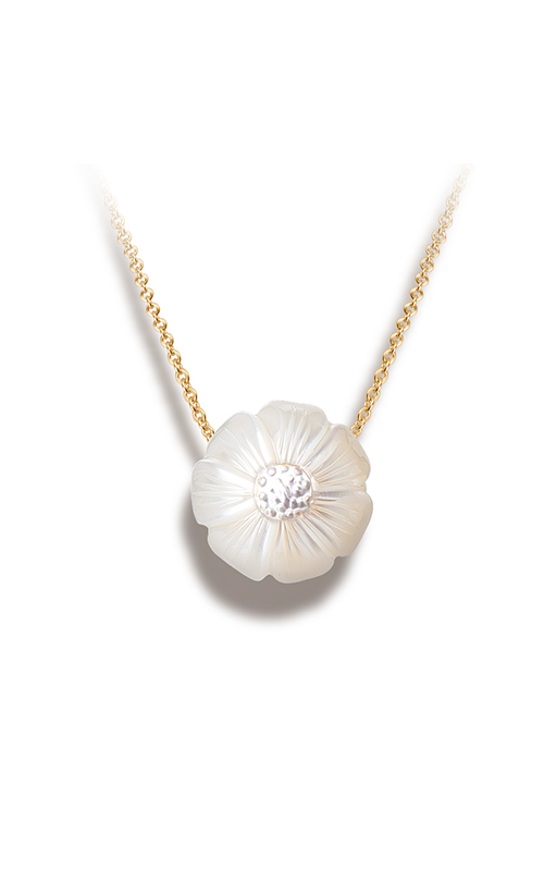 Galatea Pearl Flower Necklace PF10 product image