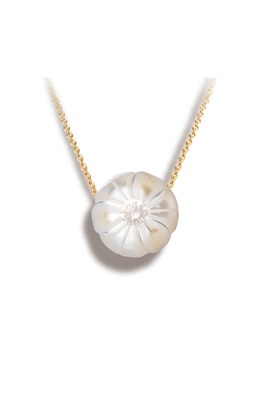Galatea Pearl Flower Necklace PF12 product image