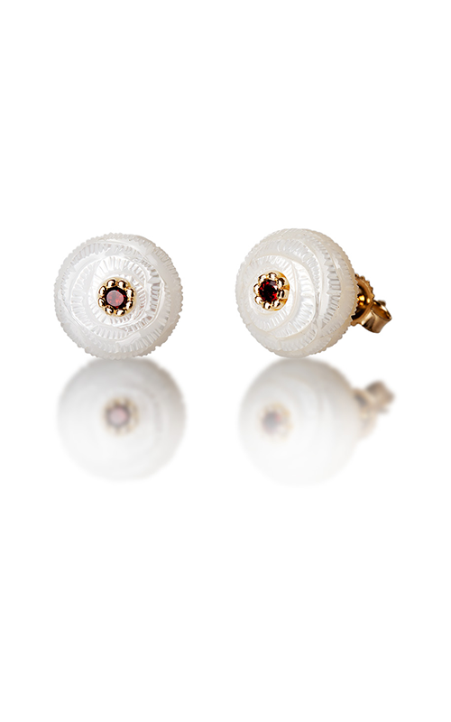 Galatea Pearl Flower Earrings PB1E product image