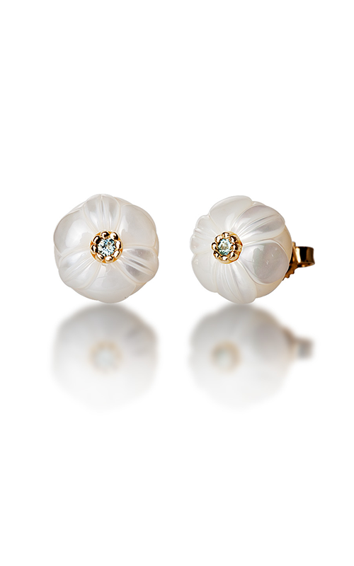 Galatea Pearl Flower Earrings PB3E product image