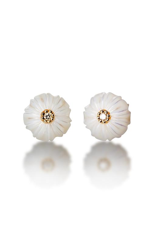Galatea Pearl Flower Earrings PB4E product image