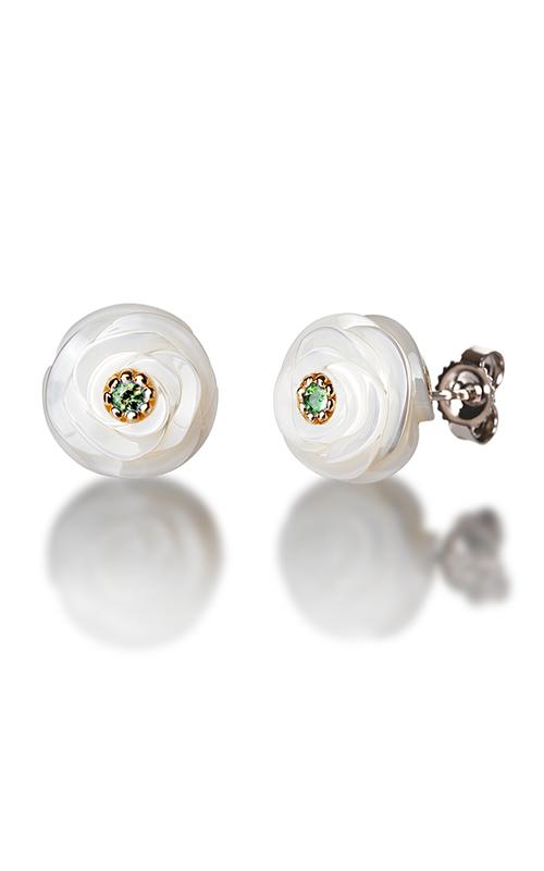 Galatea Pearl Flower Earrings PB6E product image