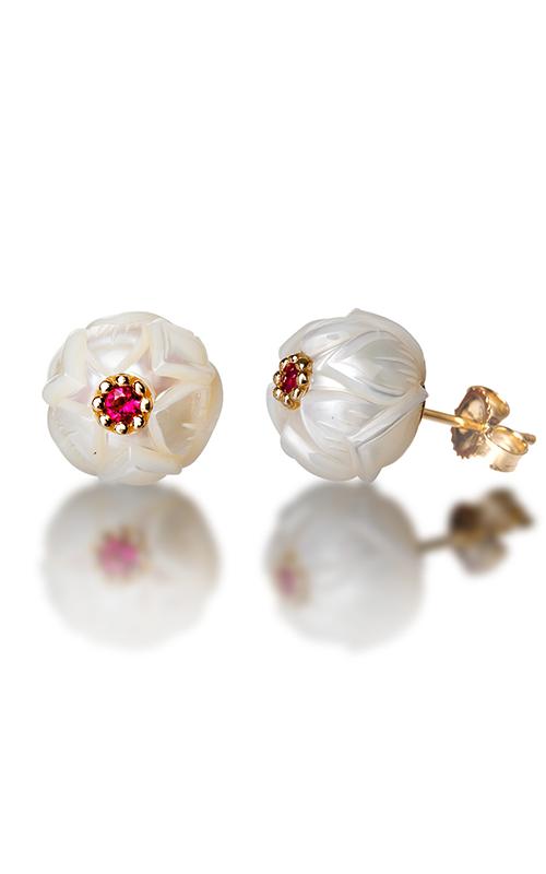 Galatea Pearl Flower Earrings PB7E product image