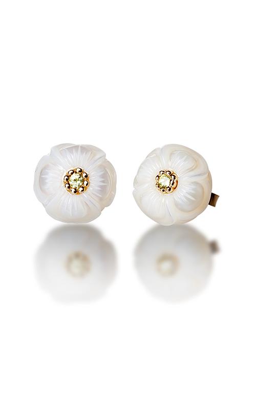 Galatea Pearl Flower Earrings PB8E product image