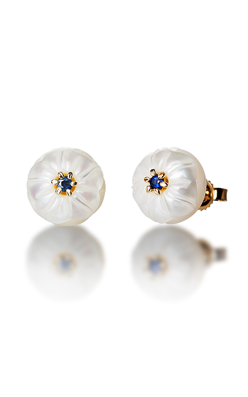 Galatea Pearl Flower Earrings PB9E product image
