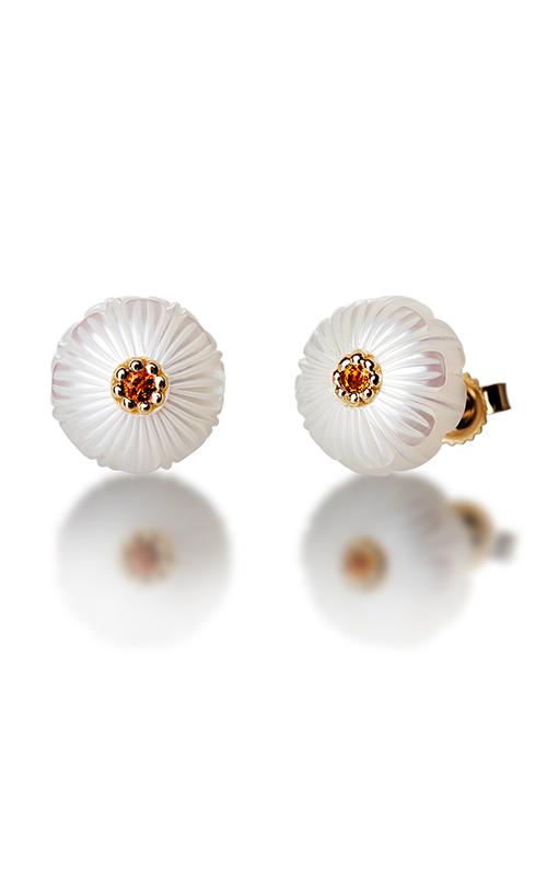 Galatea Pearl Flower Earrings PB11E product image