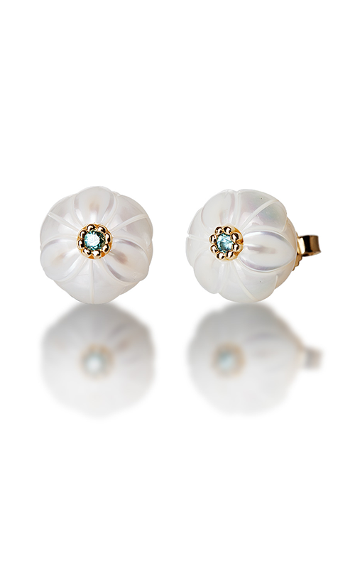 Galatea Pearl Flower Earrings PB12E product image