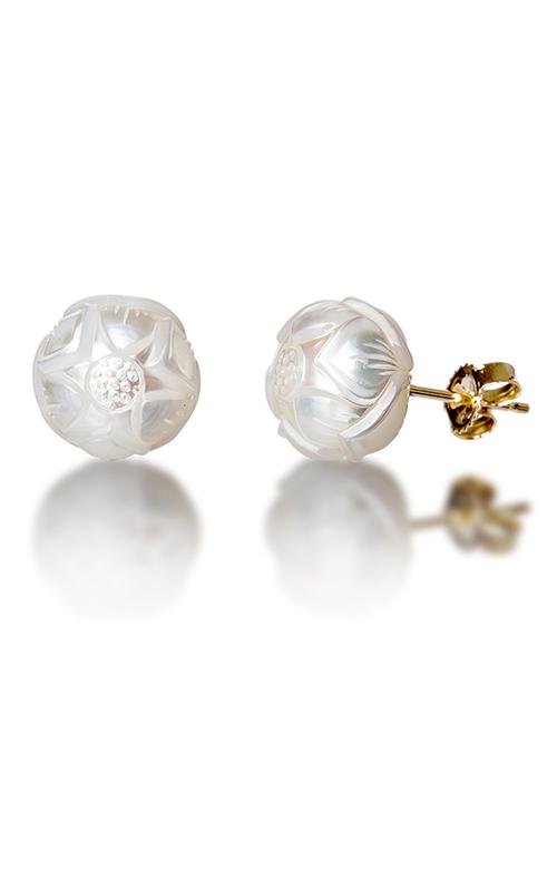 Galatea Pearl Flower Earrings PF7E product image