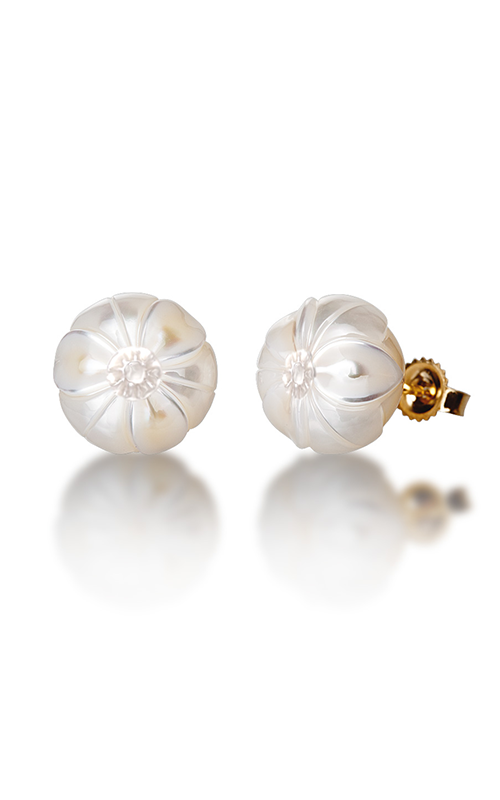 Galatea Pearl Flower Earrings PF12E product image
