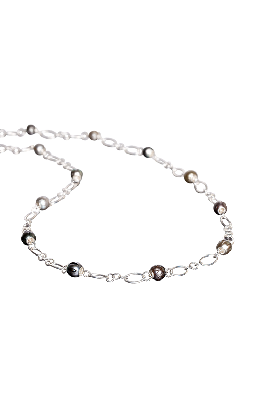 Galatea Carved Pearl & Sterling  8012NT product image