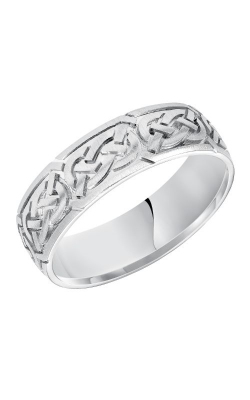 Goldman Engraved Wedding Band 11-7159W-G product image