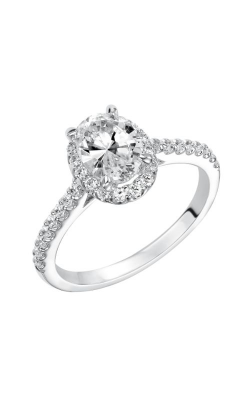 Goldman Contemporary Engagement Ring 31-799EVW-E product image