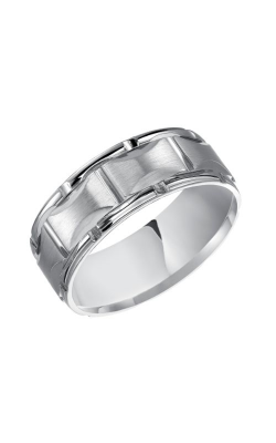 Goldman Wedding Band Engraved 11-8505W8-G product image