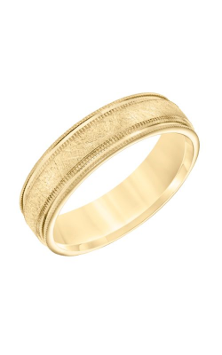 Goldman Wedding Band Engraved 11-8662Y6-G product image