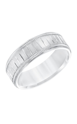 Goldman Wedding Band Engraved 11-8663W7-G product image
