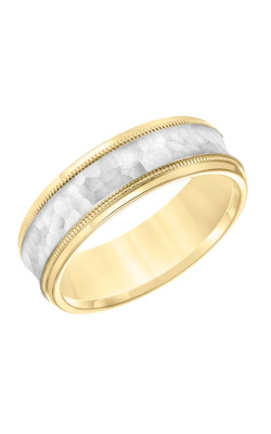 Goldman Wedding Band Engraved 11-8664YW7-G product image
