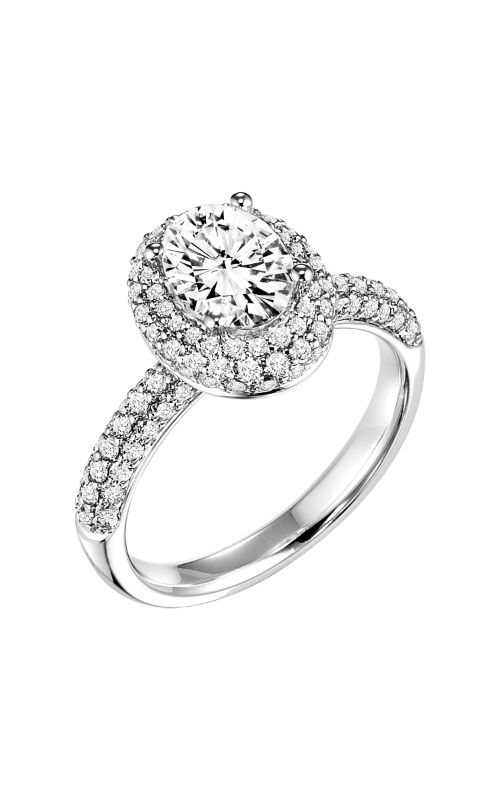 Goldman Contemporary Engagement Ring 31-682EVW-E product image