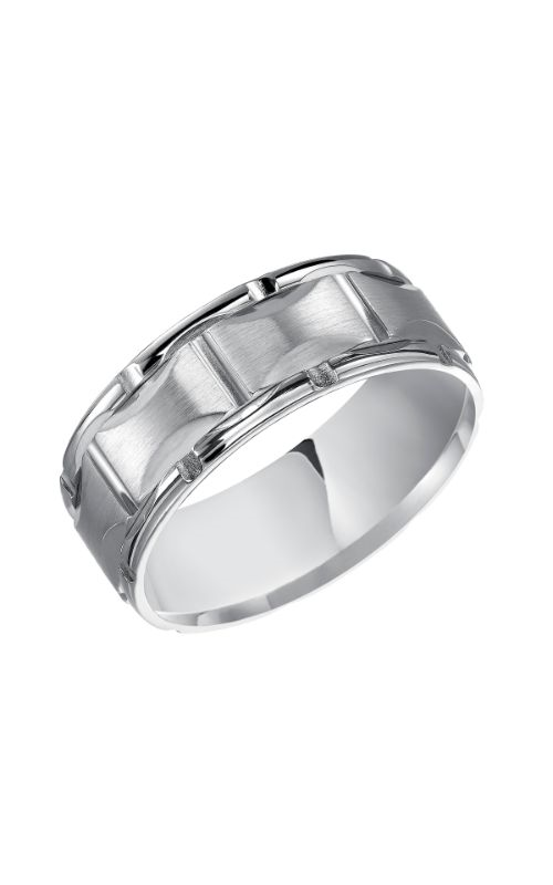 Goldman Engraved Wedding Band 11-8505W8-G product image