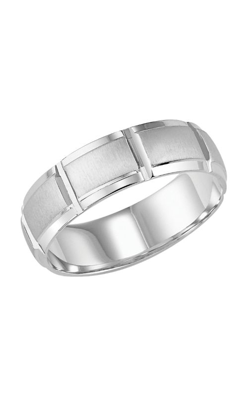Goldman Engraved Wedding Band 11 8137w G