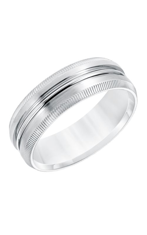 Goldman Wedding band Engraved 11-8668W7-G product image