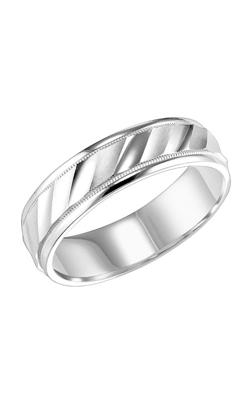 Goldman Engraved Wedding Band 11-6144W-G product image
