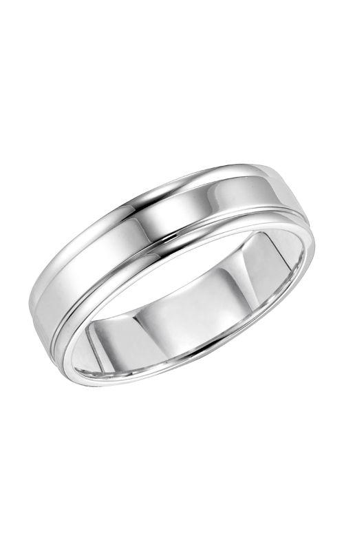 Goldman Engraved Wedding Band 11-6710W-G product image