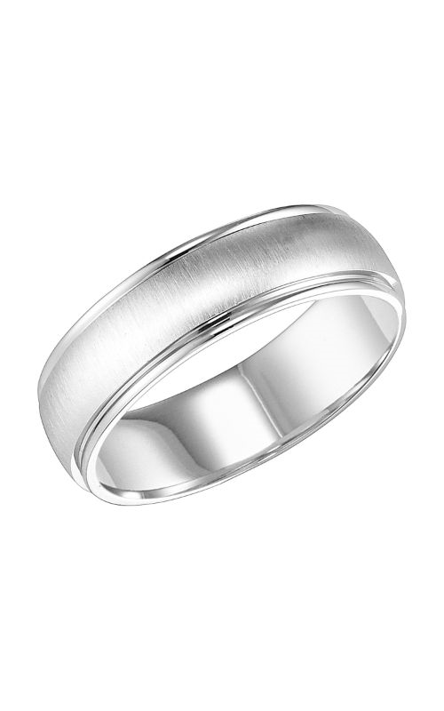 Goldman Engraved Wedding Band 11-7107W-G product image