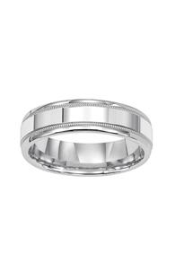 Goldman Engraved Wedding Band 11-8067PD-G product image