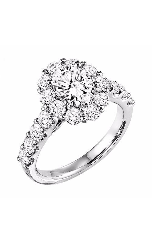 Goldman Contemporary Engagement Ring 31-651EVW-E product image