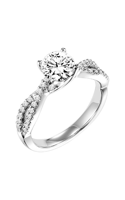 Goldman Contemporary Engagement Ring 31-653ERW-E product image