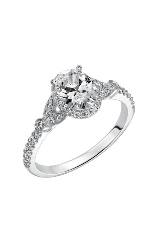Goldman Contemporary Engagement Ring 31-838EVW-E product image