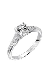 Goldman Vintage Engagement Ring 31-872DRW-E product image