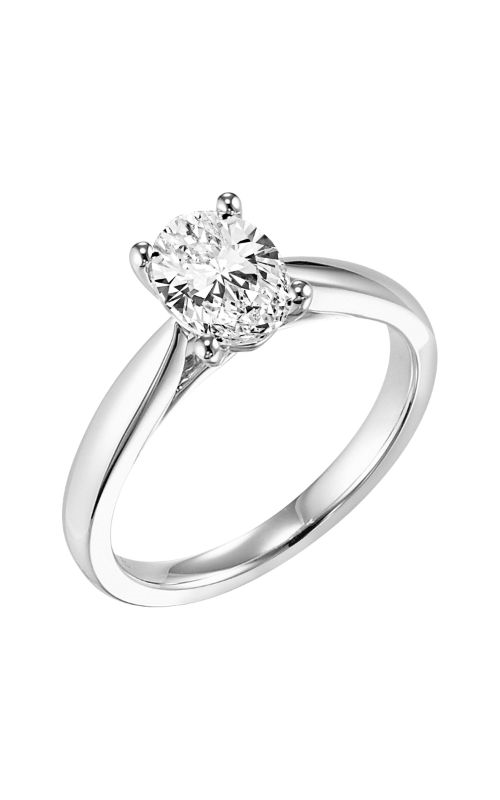 Goldman Contemporary Engagement Ring 31-703EVW-E product image