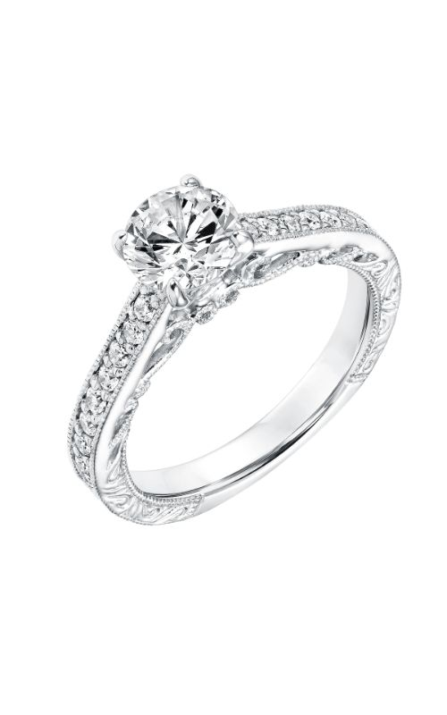 Goldman Vintage Engagement Ring 31-11033ERW-E product image