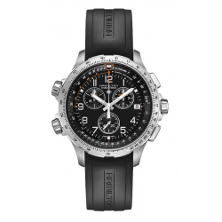 Hamilton X-Wind GMT Chrono Quartz Watch H77912335 product image