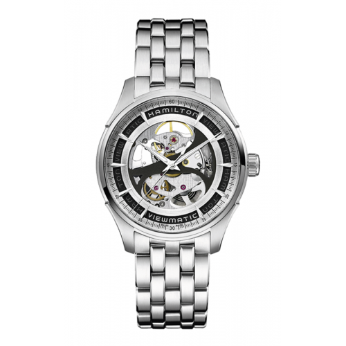 Hamilton Viewmatic Skeleton Gent Auto Watch H42555151 product image