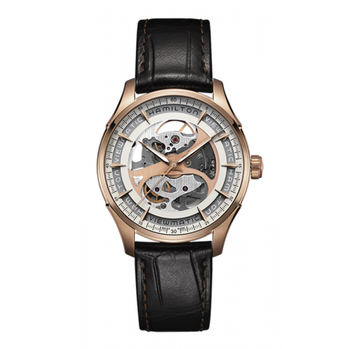 Hamilton Viewmatic Skeleton Gent Auto Watch H42545551 product image