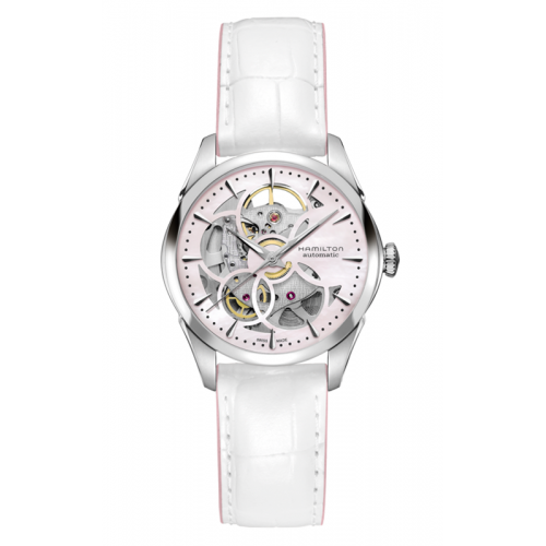 Hamilton Viewmatic Skeleton Lady Auto Watch H32405871 product image