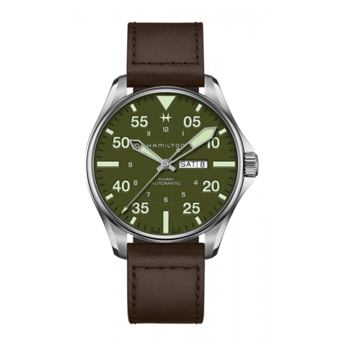 Hamilton Pilot Schott NYC Watch H64735561 product image