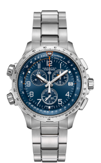 Hamilton X-Wind GMT Chrono Quartz H77922141