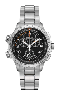 Hamilton X-Wind GMT Chrono Quartz H77912135