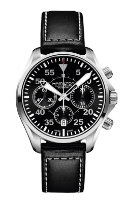 Hamilton Khaki Aviation Pilot Auto Chrono Watch H64666735 product image