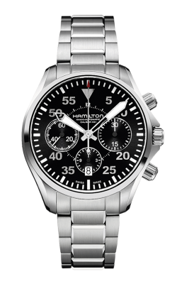 Hamilton Khaki Aviation Pilot Auto Chrono Watch H64666135 product image