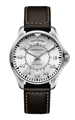 Hamilton Khaki Aviation Pilot Day Date Auto Watch H64615555 product image