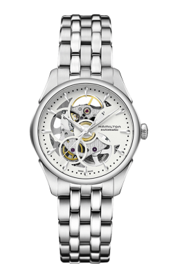 Hamilton Viewmatic Skeleton Lady Auto Watch H32405111 product image