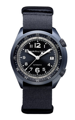Hamilton Khaki Aviation Pilot Pioneer Aluminium Auto Watch H80495845 product image